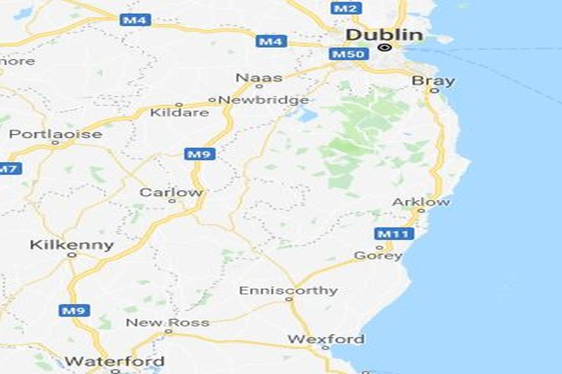 b977.location map - Kehoe & oc on ireland wexford, courtown wexford, hook lighthouse wexford, whites hotel wexford, co wexford,